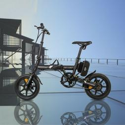 """ECOTRIC 14"""" 36V8Ah FOLDING Electric Bicycle eBike Removable"""