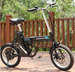 """ANCHEER 16"""" Folding Electric Bike Mountain City Cycling Bicy"""