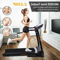 ANCHEER 2.2HP Folding Electric Treadmill for Home Running Ma
