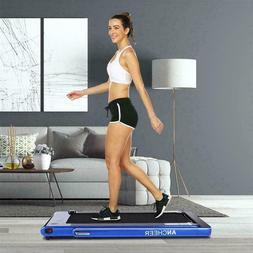ANCHEER 2 in 1 Folding Electric Treadmill 2.25HP Running Mac