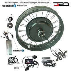 20 24 26 inch 48V Fat Bike Electric Conversion Kit Hub Motor