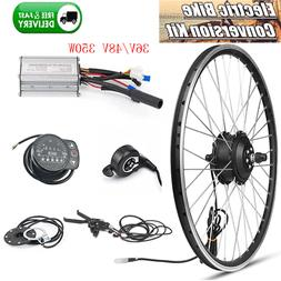 "36V 48V 350W Ebike Conversion Kit 20""26""700C Electric Bike F"
