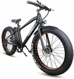 "20"" 300W36V Fat Tire Electric Bicycles Snow Beach Bike Shima"