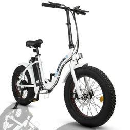 "ECOTRIC 20"" 500W 12.5Ah Folding Electric Bicycle e-Bike Fat"