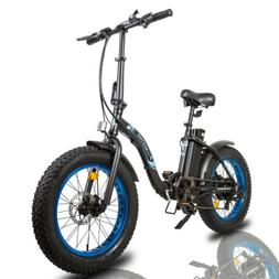 "ECOTRIC 20"" 500W 12.5Ah Folding Electric Bicycle e-Bike Fat"