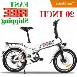 Ancheer 20´´ Electric Bike Ebike City Mountain Bike Bicycl