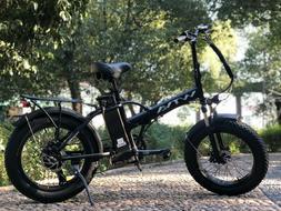 "20""Fat Tire 750W 48V 13AH Folding Electric Bike Beach Snow E"