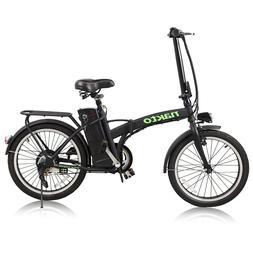 """NAKTO 20"""" Folding Electric Bike 250W Motor 36V 10Ah Li-Batte"""