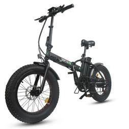 "ECOTRIC 20"" Folding Fat Tire Electric Bicycle 48V 500W e Bik"
