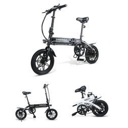 14'' Folding Electric Bicycle Portable City Moped E-bike 250