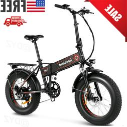 20inch 500w folding electric bike fat tire