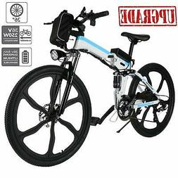 "250W 26"" Folding E-Bike Electric Bicycle Sport Mountain Bike"