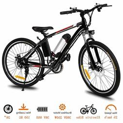 Ancheer 250W Power Electric Mountain Bike With36V Removable