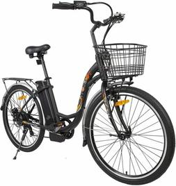 "26""36V 350W Litium ION Electric Bicycle e-Bike Shimano 7 spe"