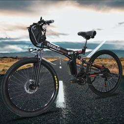 """26"""" 36V Bicycle Folding Electric CLIENSY 350W City Mountain"""