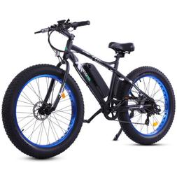 "26""500W36V12.5Ah Fat Tire Mountain Snow Beach Electric Bicyc"