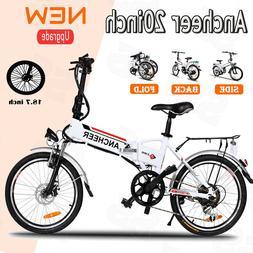 """ANCHEER 26"""" Electric Bicycle Bike Ebike Mountain Beach w/ Li"""