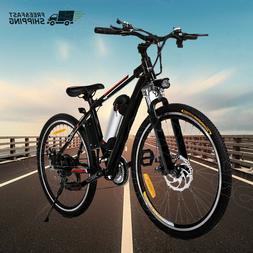 26'' Electric Bike E-Bike Moutain Bicycle*Folding Cycling Sh