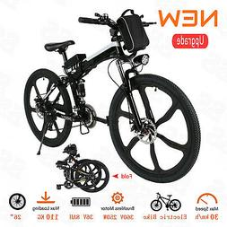 "26"" Folding E-Bike 250W 36V Power Electric Mountain Bicycle"