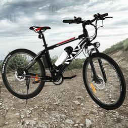 26INCH 350W Electric Bike Mountain Bicycle EBike SHIMANO 21S