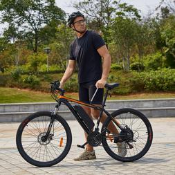 26INCH 350W Electric Mountain Bike Bicycle Shimano Black-Ora