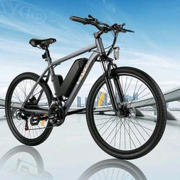 26INCH 350W Electric Bike Mountain Bicycle EBike SHIMANO 21S