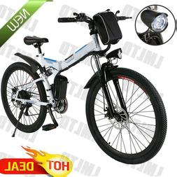 26INCH Electric Bike Mountain Bicycle Folding E-Bike Classic