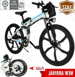 26INCH Electric Bike Mountain Bike Folding E-Bike Shimano Bi