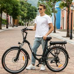 26INCH  Electric City Bike, Removable With 12.5Ah Lithium-io