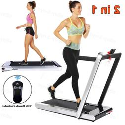ANCHEER 2 in 1 Electric Folding Treadmill 2.25 HP Running Ma