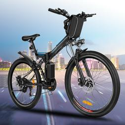 VIVI 2INCH 350W Electric Bike Folding Mountain Bicycle Ebike