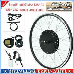 36V/48V 500W-1500W Electric Bicycle Motor Conversion Kit E-B