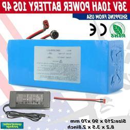 36V 10Ah Lithium li-ion Battery Pack 500W ebike Bicycle E Bi