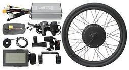 Hallomotor 36V/48V 1500W Electric Bike Front Wheel Conversio