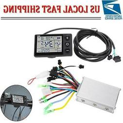 36V-48V Waterproof LCD Display Panel Electric Bicycle Scoote
