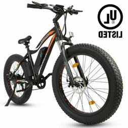 36V 500W Electric Fat Tire Beach Snow City Bike Road Bicycle