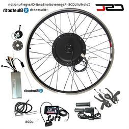 48V 1500W Electric Bike Conversion Kit 20 24 26 inch Cycling