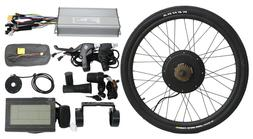 Hallomotor 48V 1500W Rear Wheel Ebike Conversion Kits  Elect