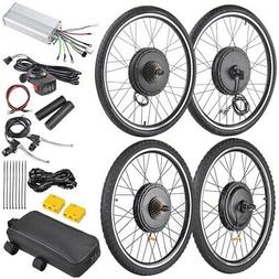 "48V 1000W 26"" Front Rear Wheel Electric Bicycle Motor E-Bike"