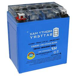 Mighty Max  12V 6AH GEL BATTERY FOR MOTORCYCLE / ATV / MOPED