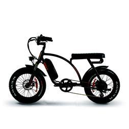 "Kasen 7.0 Electric Bike Premium 20"" Fat Tire Cruiser 500 Wat"