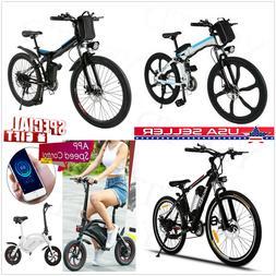 Damping Folding Electric Mountain Bike Bicycle Ebike Shimano