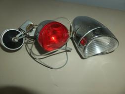 ANTIQUE SCHWINN ELECTRIC BICYCLE LIGHT