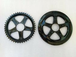 BAFANG BBS 46T Sprocket Chainwheel w/ Chain Guard Mid Drive