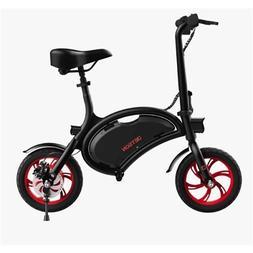 "Jetson Bolt Electric Bike w/ 12"" Wheels & Bluetooth Black/Re"