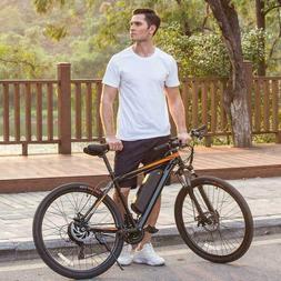 "Ancheer 20"" Folding Electric Mountain Bike 350W Bicycle Ebik"