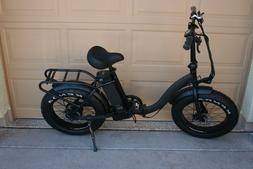 E Bicycle Bafang Folding Step Through Fat Tire 1000 Watt Ele