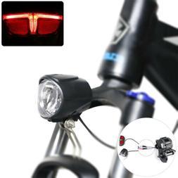 E Bike LED Lamp 6V Headlight Taillight BAFANG Mid Drive Moto
