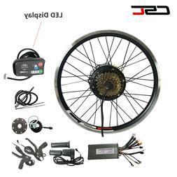 """EBike Kit Electric Bike Conversion Kit 36V Hub Motor 20"""" 24"""