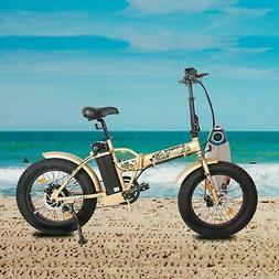"ECOTRIC FOLDING 20"" 500W 48V12.5Ah Electric City Bicycle E-B"